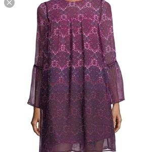 NWT Nanette Lepore Chiffon Shift Dress. Size 8